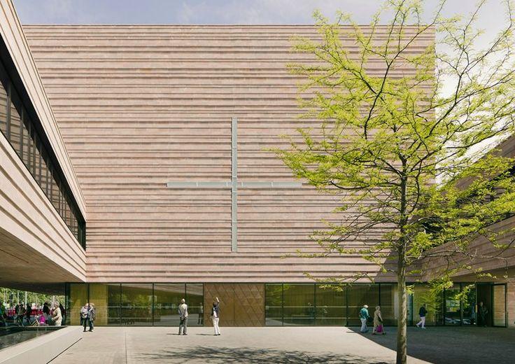 Schulz&Schulz - St. Trinitatis Catholic parish church International Prize for Sacred Architecture 2016 - 3rd Place Lipsia