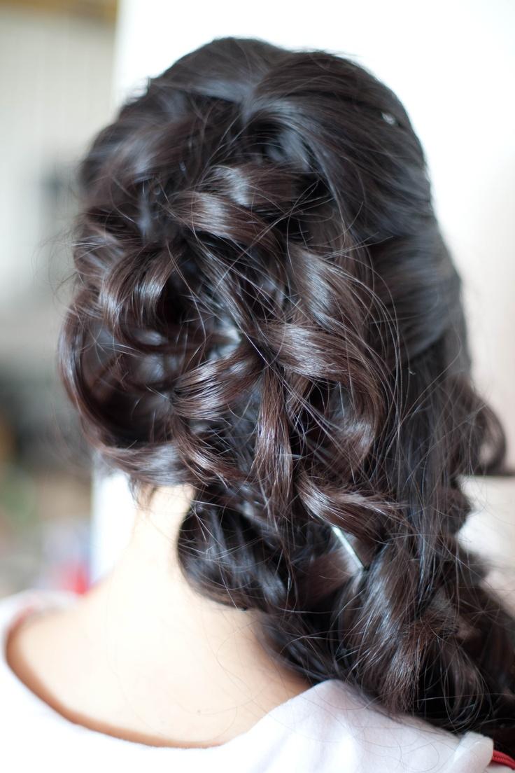 401 Best Wedding Hair Images On Pinterest