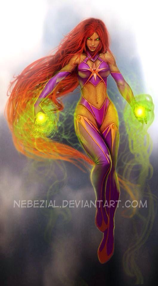 Tamaranian Bombshell - Starfire | Teen Titans/Young ...