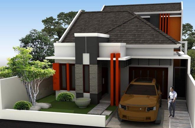 Contoh Gambar Taman dan Teras Rumah Minimalis type 36 45 7