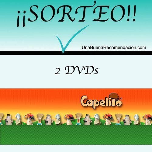 Sorteo 2 DVDs de Capelito  http://www.unabuenarecomendacion.com/index.php/sorteos/4486-sorteamos-2-dvds-de-capelito