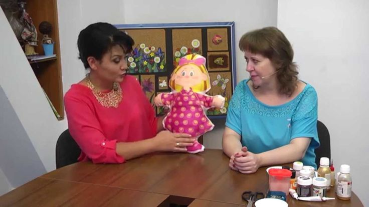 Мастер-класс батик кукла