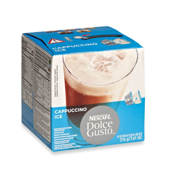 Nescafe Dolce Gusto Iced Cappuccino Dolce Gusto Comida