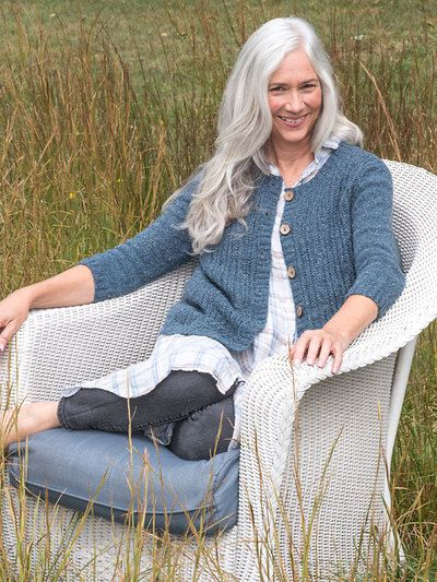 Berroco Ponente Cardigan Knitting Pattern PDF 386