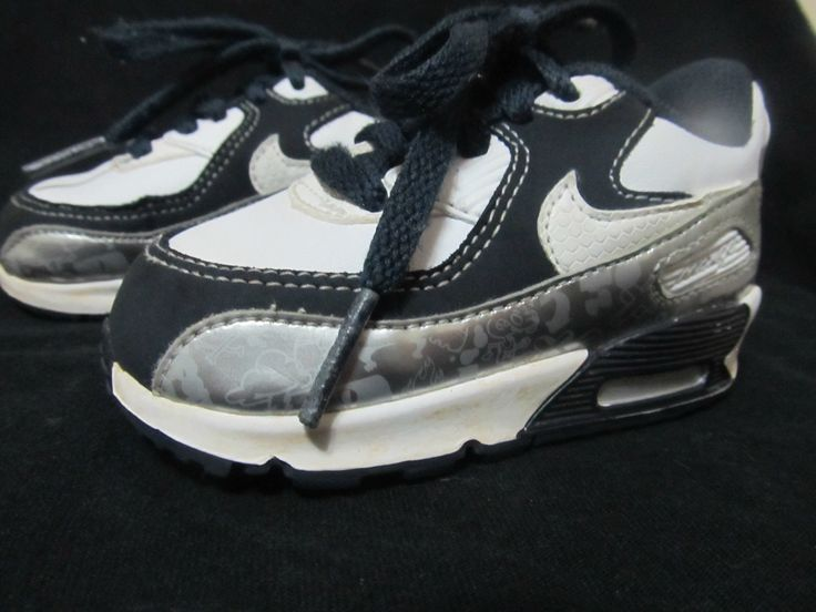 Nike Baby Max90 Leather Sneakers Infant Size 4c Baby Shoes