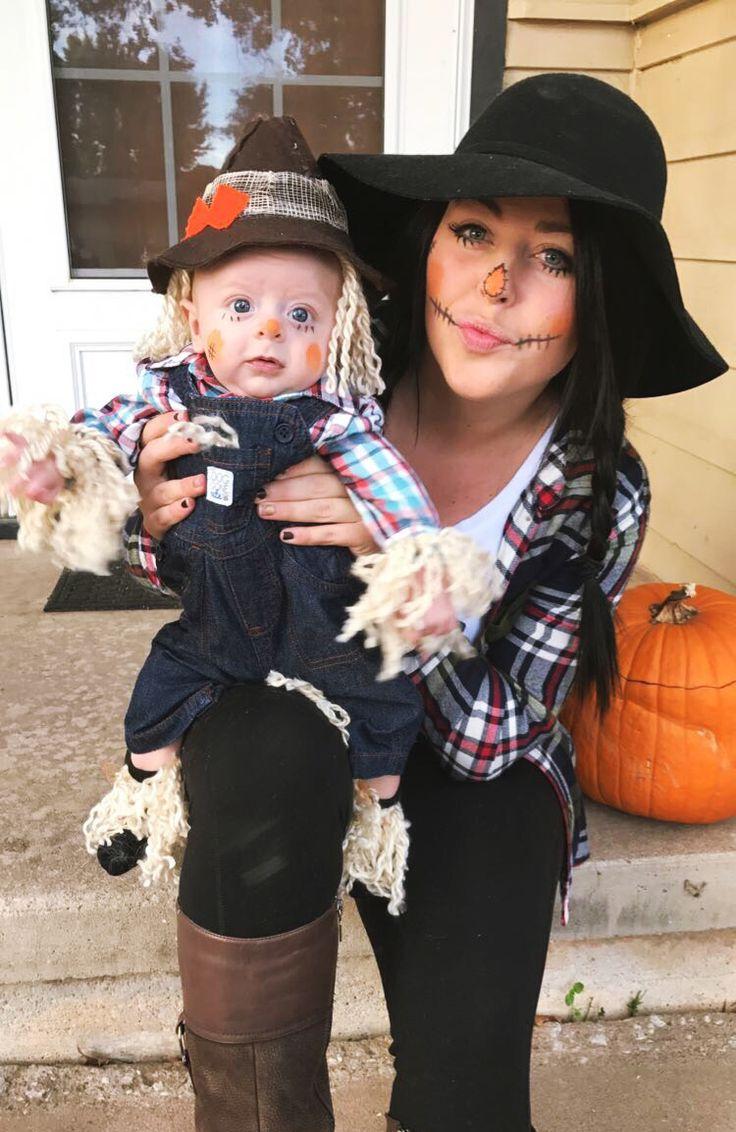 Mom and son Halloween costume