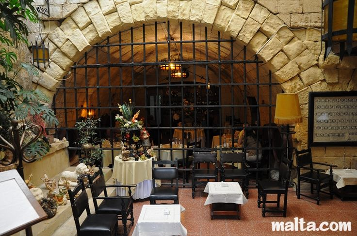 Bacchus Restaurant Mdina - Fine French and Mediterranean Cuisine