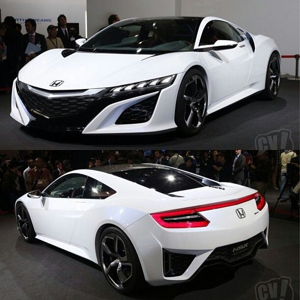 HONDA NSX CONCEPT — what a sleek looking car!