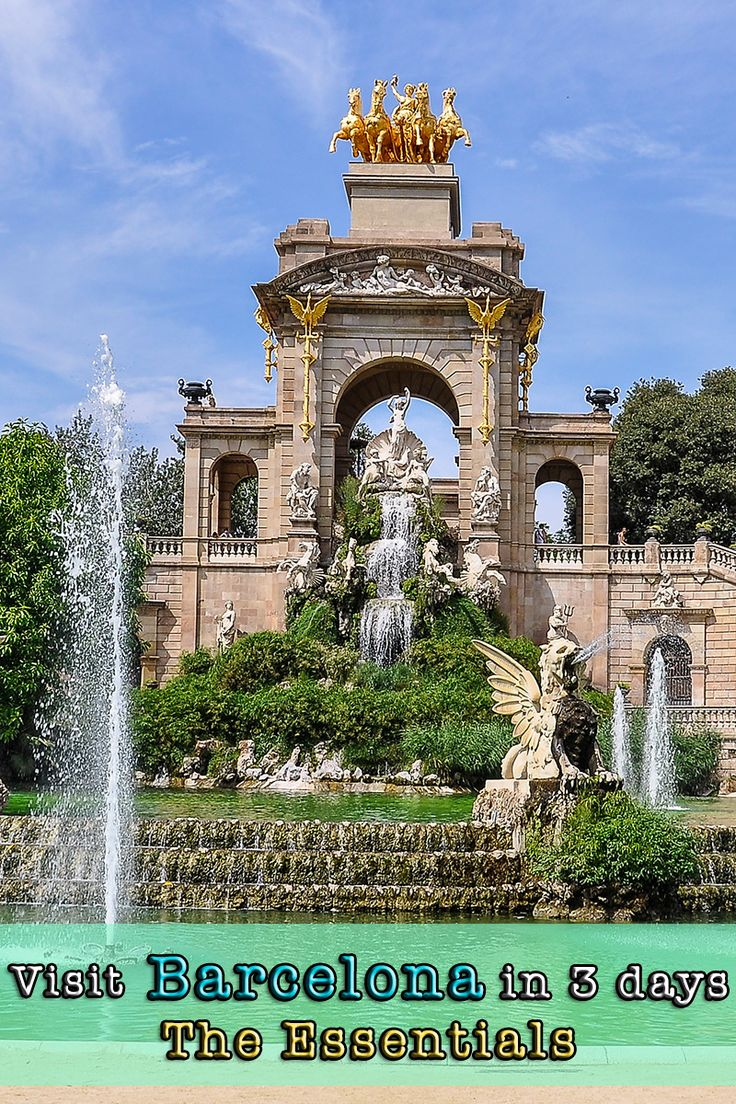 What to see in Barcelona, the Catalan capital. A 3-day itinerary written by locals.