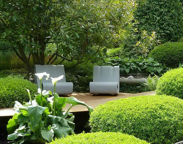 Stardust Modern Design: Modern Landscape Design Ideas / repinned on Toby Designs