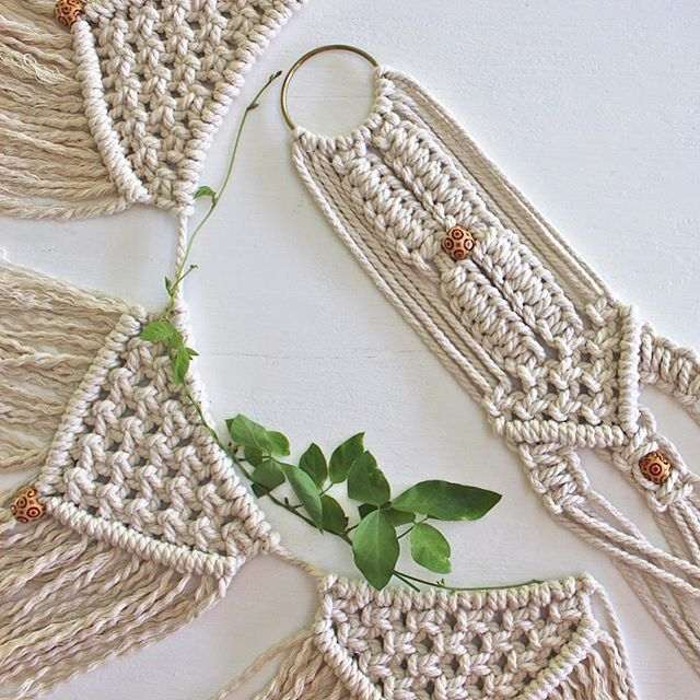 ...and the Winner of our Giveaway is @kirstyholmes87. Congratulations!! Please leave your email to claim your Macramé bunting & plant hanger set ❤️
