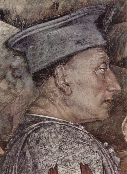 Andrea Mantegna, Camera Picta, detail