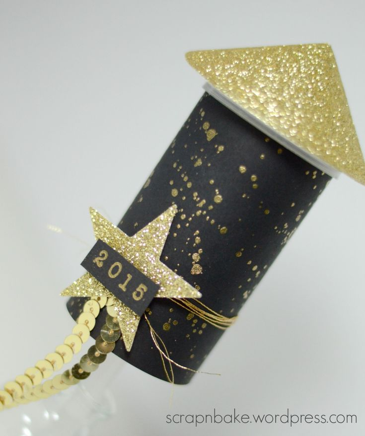 Stampin' UP! - New Year - Silvester - Party - Goodie - Konfetti - Rakete