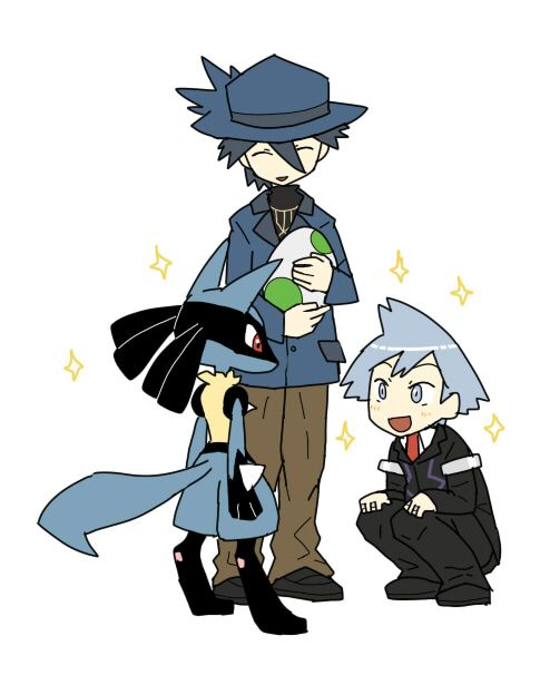 Pokemon Steven And Riley Because Riley and Stev...