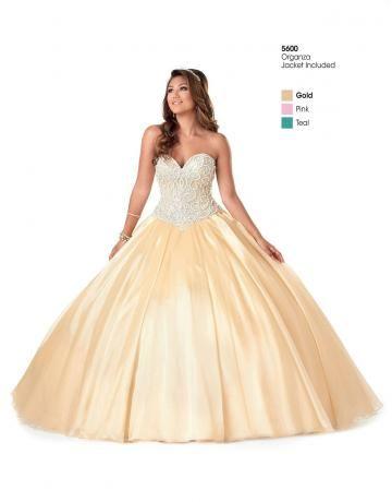 organza Quinceanera plesové šaty šaty