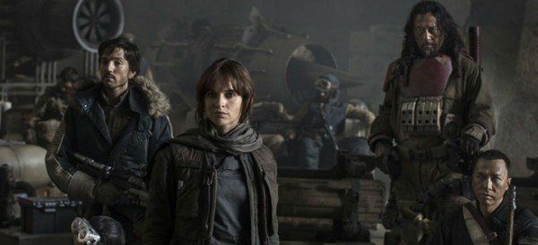 Abarrotado estreno de Rogue One: A Star Wars