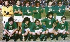Ferro Carril Oeste of Argentina team group in 1979.