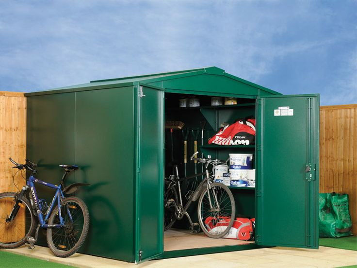 7x7 gladiator metal shed police approved - Garden Sheds 7x7