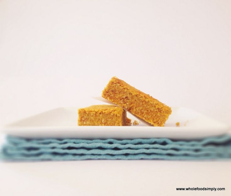 Snack Bars.  Quick, easy and delicious!  Free from gluten, grains, dairy, eggs and refined sugar.  Enjoy!