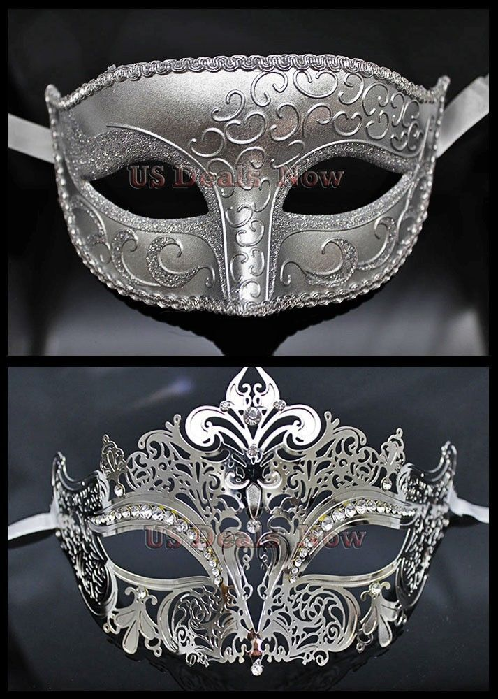 MANY Matching Couple Phantom Elegant Venetian Masquerade Mask for MALE & FEMALE  $33.99 free shipping