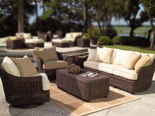Whitecraft Sonoma Wicker 5-Piece Conversation Package by WhiteCraft. $4192.99. 100% HDPE resin wicker will not crack, peel, or chip with UV inhibitors. Over 100 different cushion colors available for your selection. UV protected and cannot be damaged by rain, sun or salt water. Sonoma Collection features beautiful Trax Mink resin wicker. Sturdy aluminum frames with powder coat finish. The extra thick wicker of the Sonoma Collection gives the furniture a unique appea...