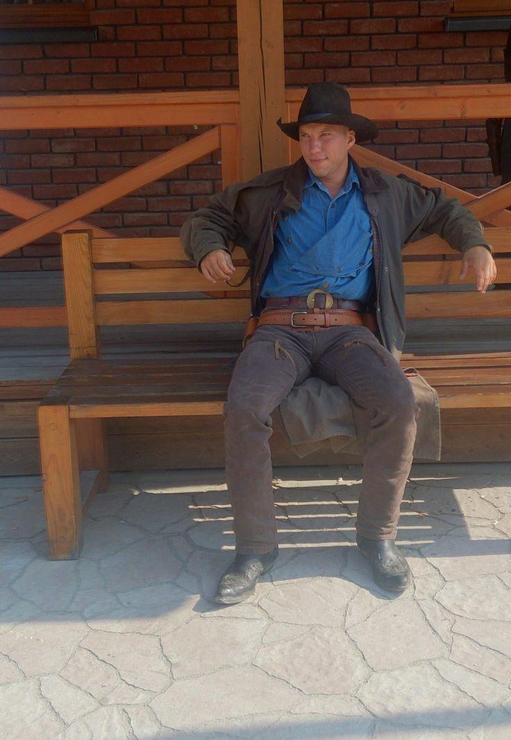 Kowboj czeka na swoje pięć minut.