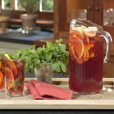 South African Rooibos (Redbush) Iced Tea mint, lemon, orange, ginger, honey