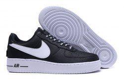 2b6bb3125d710 Unisex Nike Air Force 1 07 Lv8 NBA Pack Black White 823511 007 Men's  Women's Basketball Shoes