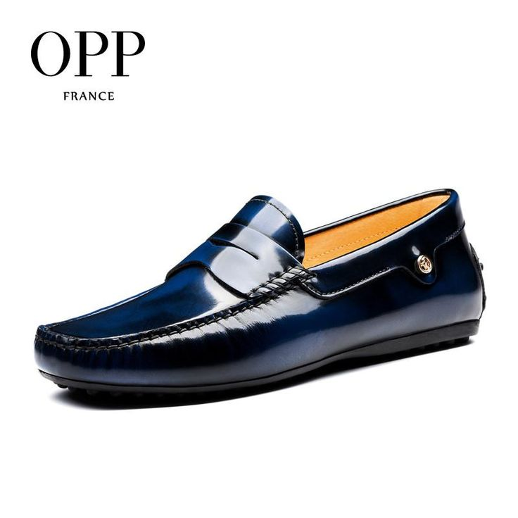 2018 men's casual Cow Leather loafers Shoes Casual Slip on Driver Shoes Natural Cow Leather moccasins
