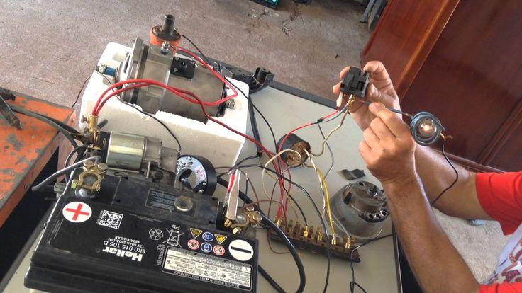 Como funciona a parte elétrica automotiva 5/20 luzes do painel
