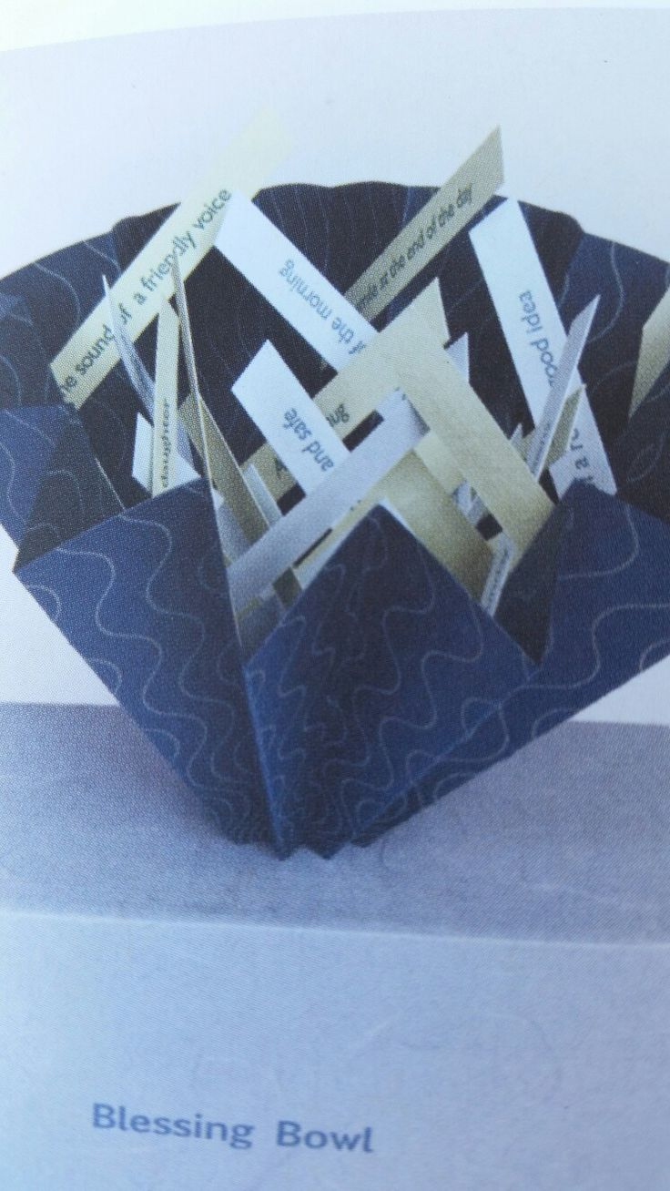 Linda Johnson Accordion fold flag book structure with magnetic closure,  letterpress printed from photo polymer plates