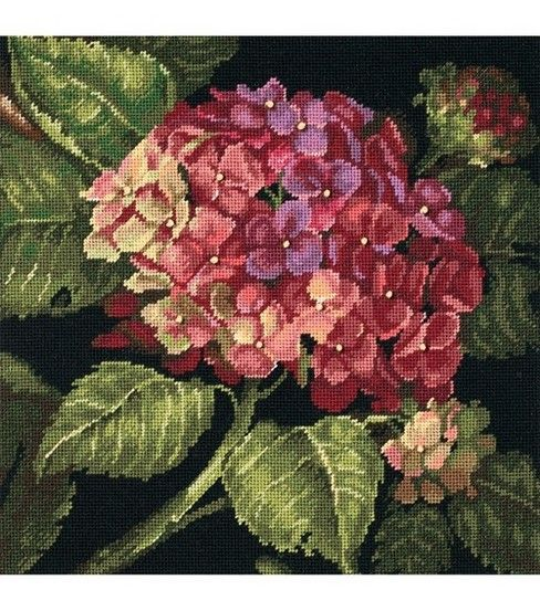 Dimensions Needlepoint Kit Hydrangea BloomDimensions Needlepoint Kit Hydrangea Bloom, $39.99