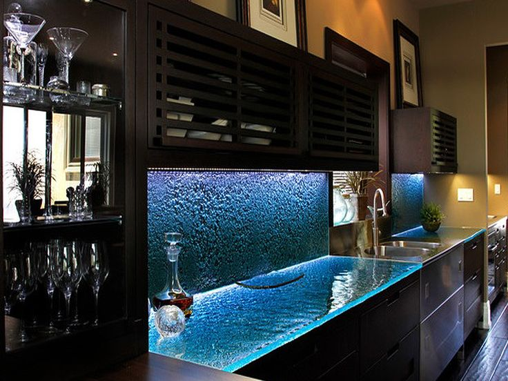 Glass Countertops for Kitchen Ideas with Pictures                                                                                                                                                                                 More