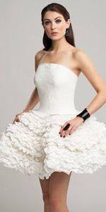 Contradictions - Kleenex paper dress finalist.
