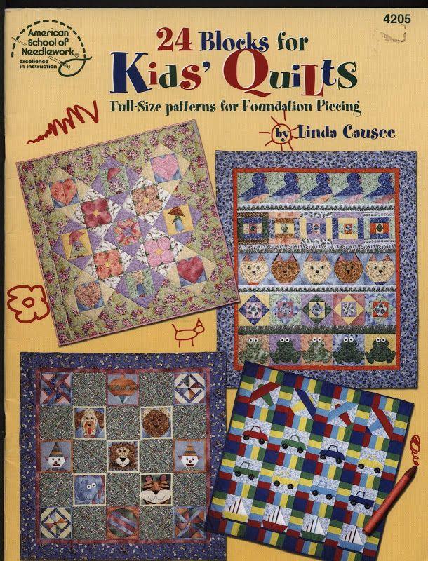 24 Blocks Kids Quilt