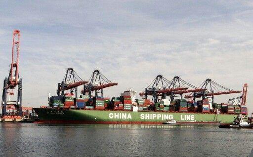 Containerachip maasvlakte Rotterdam