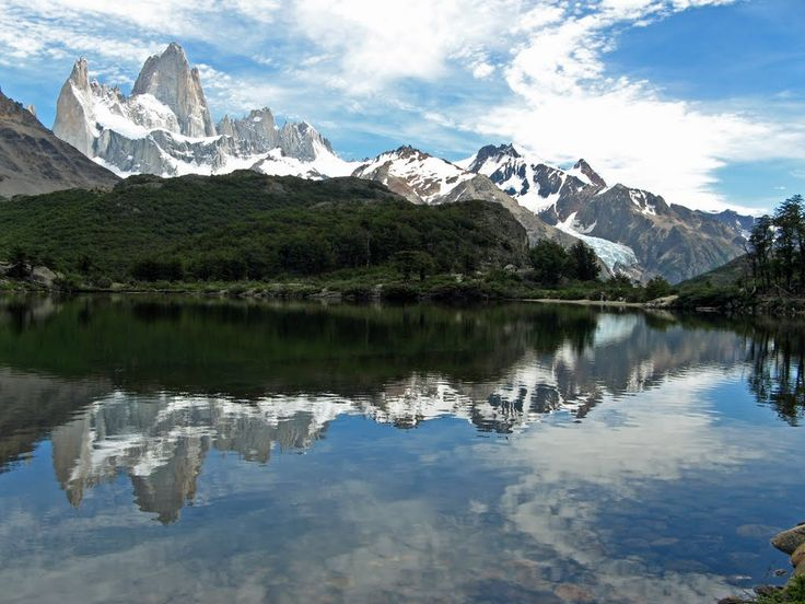 Monte Fitz Roy, Santa Cruz, Argentina: Photos Shar Community, Photos Exploring, Argentina, Laguna Capri, Turquoise Blue Cross, Nice Mirror, Amazing Places, Santa Cruz, Awesome Places