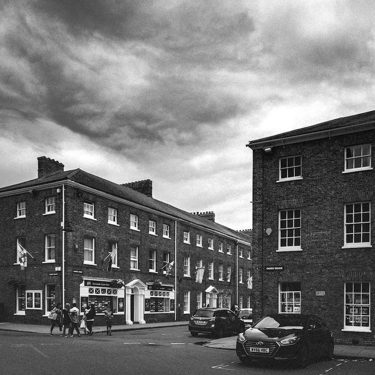 Hammet Street and Church Square is a nice part of town. #Taunton #nikond5300 #street #architecture