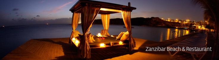 Zanzibar Curacao Beach en Restaurant @ Jan Thiel / Restaurants / Zanzibar Beach