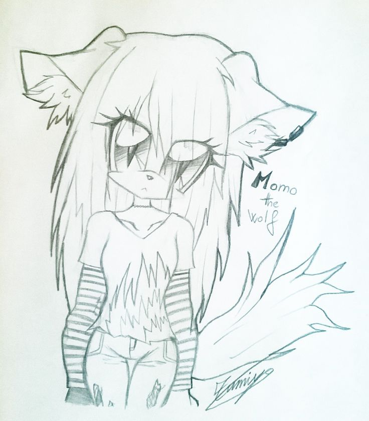 A little psyco ♡ Art by @Zumiya73 | And she's my friend in Sonic style •3• so cute :3