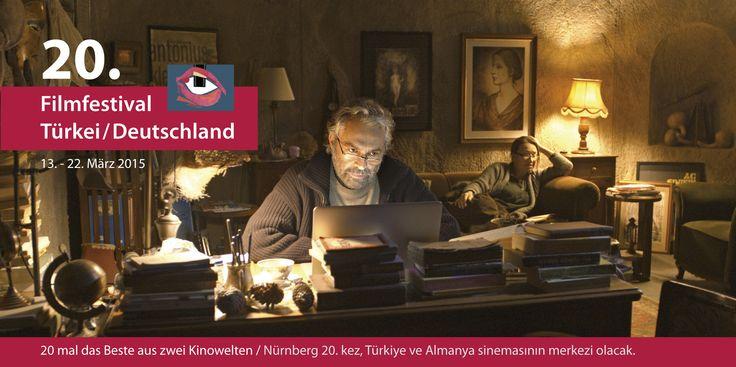 Der Termin für das 20. Filmfestival Türkei / Deutschland steht fest: vom 13. bis 22. März 2015 wird Nürnberg zum 20. Mal zur Hochburg des deutsch-türkischen Kinos, wo hochkarätige Kurz-, Dokumentar- und Spielfilme aus beiden Kulturwelten präsentiert werden.
