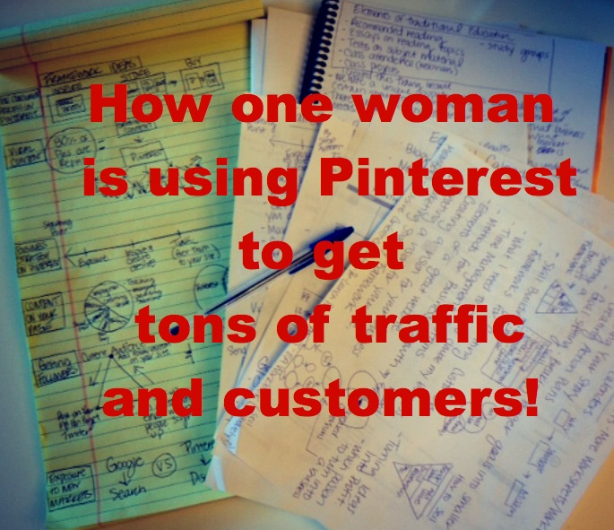 Hear the real life story of how Pinterest changed her business and her life: www.powerofpinning.com/webinar.