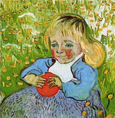 Child with Orange - Vincent van Gogh