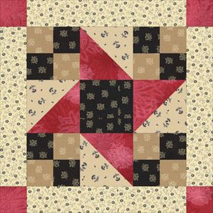 Free Quilt Block Patterns, F through L