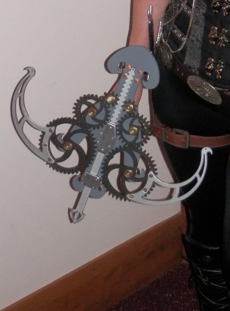 24 besten steampunk crossbows from etsy uk bilder auf. Black Bedroom Furniture Sets. Home Design Ideas