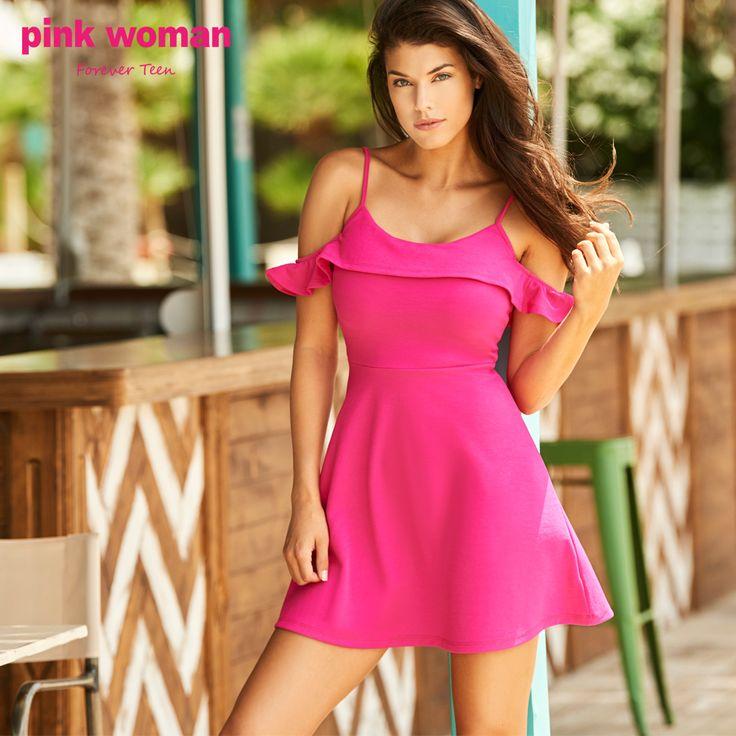 Παίξε και τόλμησε τα έντονα χρώματα! Shop online at https://www.pinkwoman-fashion.com/el-gr/
