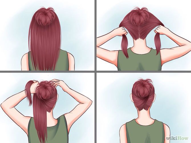 This a good hair style to wait on a rainy day or on a down day                                                                                                                                                      More