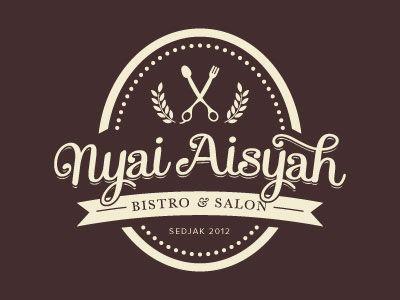Nyai Aisyah Vintage Logo Design Inspiration