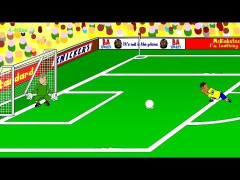 BRAZIL vs CROATIA 3-1 by 442oons (World Cup 2014 Cartoon 12.6.14)