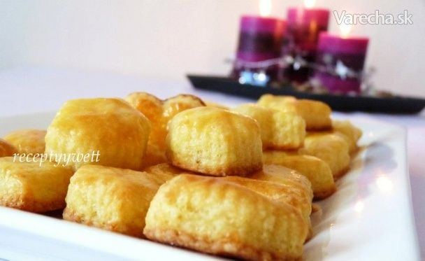 Zemiakovo - syrové chuťovky (fotorecept) - Potato biscuits (in Slovak)